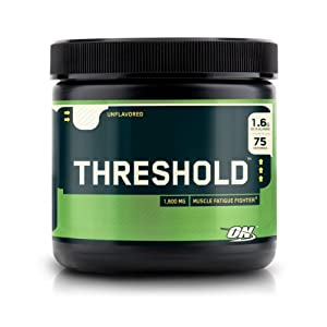 Threshold-Optimum Nutrition Beta-Alanine Muscle Fatigue Fighter, 202.5g Unflavored