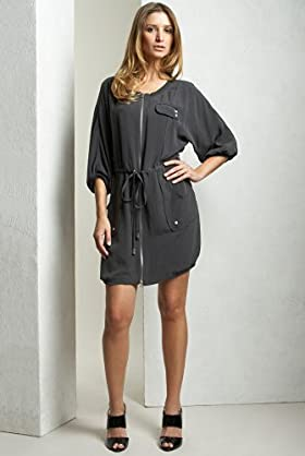 Limited Collection Silk Zip Dress