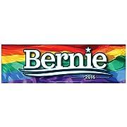 Bernie 2016 Rainbow Bumper Sticker
