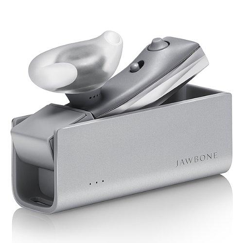 Jawbone ERA Bluetoothワイヤレスヘッドセット チャージケース付き (Silver Cross) ALP-ERA2C-SL