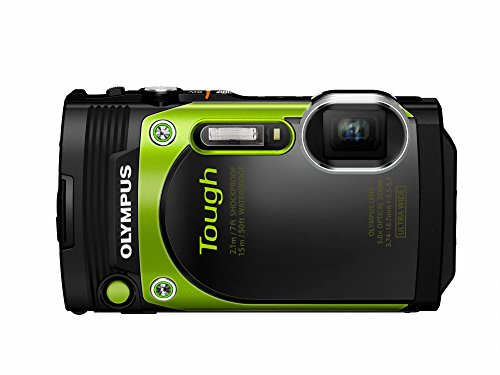 Olympus TG-870 Tough Waterproof Digital Camera (Green)