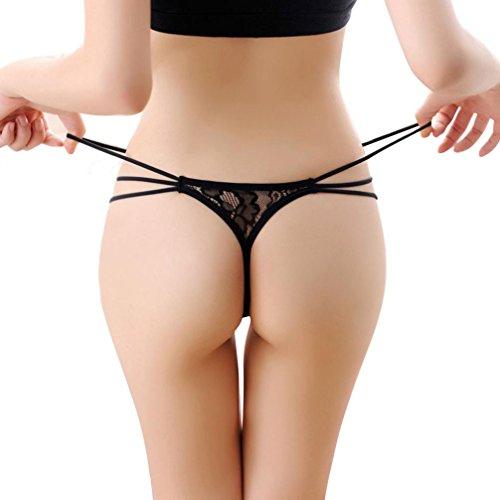 Susenstone®Frauen schnüren Condole Gurt Thongs T-back Unterhosen Schlüpfer Unterwäsche