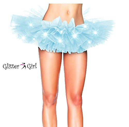 Women's LED Light Up Running Tutu | Costume, Glow Night 5K Run – One Size