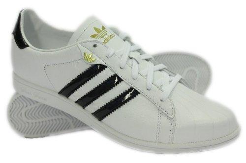 Adidas Superstar Sleek W Leder Sneaker Damen, Schuhgröße:EUR 38.5