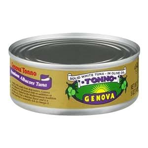 Genova Tonno Solid White Tuna In Olive Oil Amazoncom