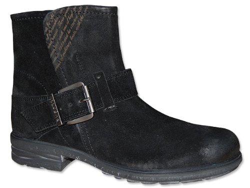 bugatti shoes Stiefelette Damen schwarz - Boot - schwarz , Schuhgröße 41