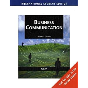 Business Communication, International Edition