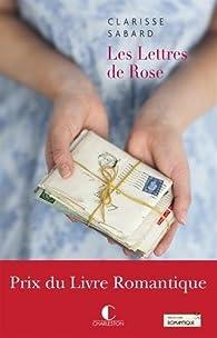 Les Lettres de Rose par Sabard