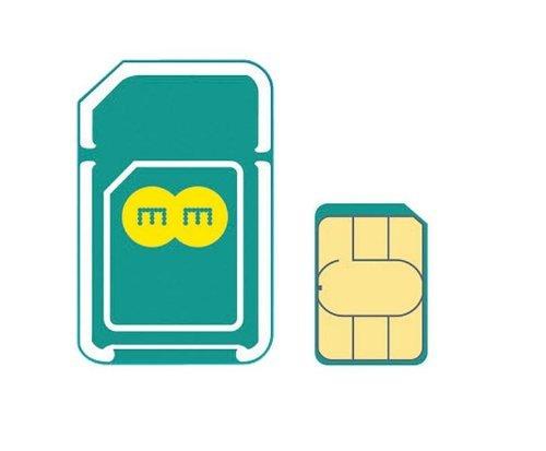 イギリスEE・データ通信専用SIMカード(2GB 30日間プランセット)(3-in-1 各サイズSIM対応) 並行輸入品
