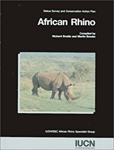 """Cover of """"African Rhino: Status Survey an..."""