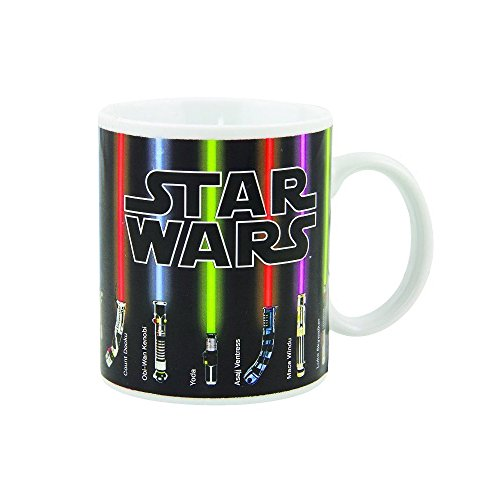 Star Wars Lightsaber Heat Chage Coffee Mug, 12 fl. oz.
