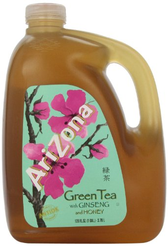 Arizona Green Tea, 128-Ounces (Pack Of 4)
