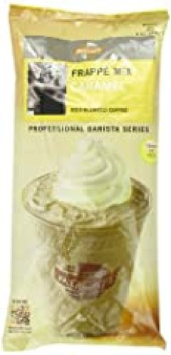 MOCAFE Frappe Caramel, Ice Blended Coffee, 3-Pound Bag