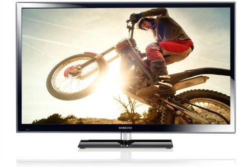 Samsung PS60E6500ESXZG 152 cm (60 Zoll) 3D Plasma-Fernseher, Energieeffizienzklasse C (Full-HD, 600Hz sfm, DVB-T/C/-S2, CI+, Smart TV) schwarz