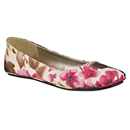 Product Image Women's Mossimo Supply Co. Odell Floral Ballet Flats - Multicolor
