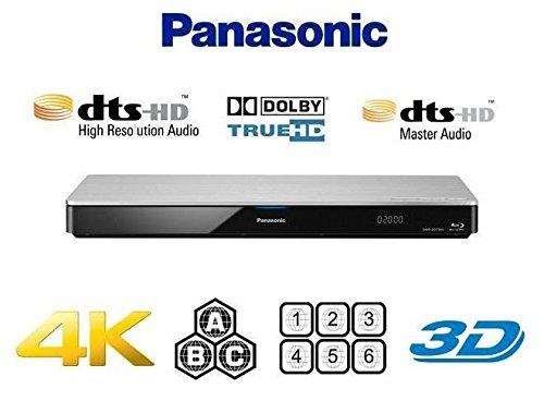 【日本語保証書付 国内サポート 完全1年保証 3年延長保証対応】 パナソニック Panasonic 4Kアップスケーリング / Region Free Version / Closed Captioning クローズドキャプション機能 / 3D対応 / Wi-Fi 機能搭載●Blu-ray A B C / DVD リージョン0-6 完全対応 / 多地域対応 マルチリージョン リージョンフリー (PAL/NTSC 自動対応) ブルーレイ & DVDプレーヤー 【日本語保証書 / ハイスピードHDMIケーブル / 変換コンセント付属】 [並行輸入品]
