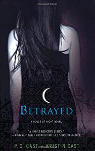 """Cover of """"Betrayed (House of Night, Book ..."""