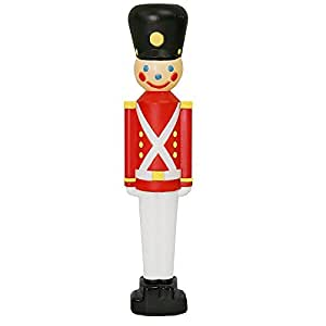 """Amazon.com : SET OF 2 - 33"""" TOY SOLDIER BLOW MOLD OUTDOOR ... on Backyard Decorations Amazon id=42950"""