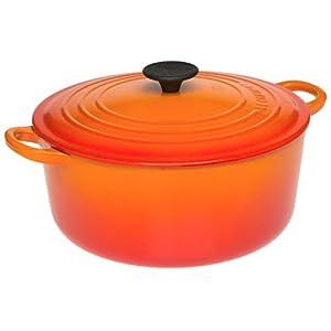 Le Creuset Enameled Cast Iron Flame Round Dutch Oven 3.5-qt.