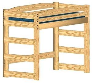 plans for wooden loft bed