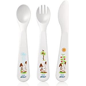 Philips AVENT Baby Fork, Knife and Spoon Set