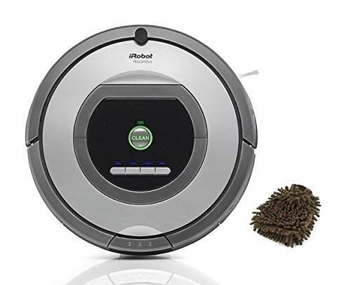 iRobot 761 Roomba Vacuum Cleaning Robot (Complete Set) w/ Bonus: Premium Microfiber Cleaner Bundle