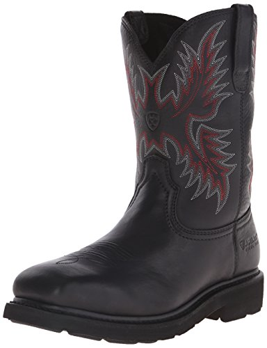 Ariat Men S Sierra Wide Square Toe Steel Toe Work Boot