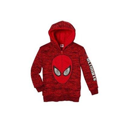 Boys-Marvel-Superhero-Lined-Full-Zip-Hoodie-Jacket