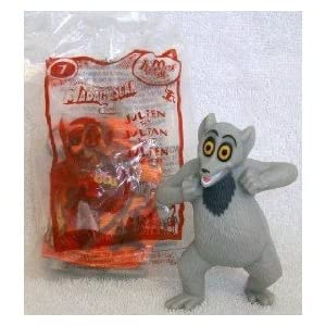 Mcdonalds Happy Meal Toy Dreamworks Madagascar 2 Escape to Africa Movie, King Julien Doll Toy