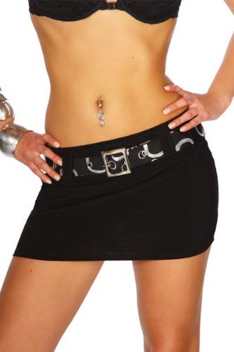 LH Dessous - 12015 (schwarz) Größe S. Super Sexy Hingucker, mit Elasthan verarbeitet. Der Minirock von Somnia wird inklusive dem stylischen Gürtel geliefert !
