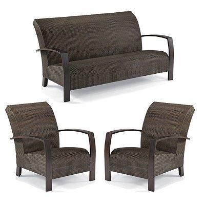del mar 3 pc outdoor sofa set frontgate patio furniture reginadfarovas