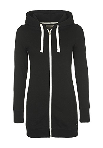 DESIRES Derby Long Damen Sweatjacke Zip Hoodie Kapuzenjacke