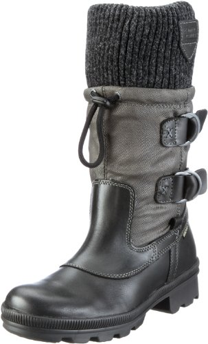 camel active Iceland GTX 12 757.12.05, Damen Stiefel, Schwarz (black/grey), EU 40.5 (UK 7)