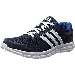 adidas Breeze 101 2, Herren Laufschuhe, Blau (Collegiate Navy/Ftwr White/Eqt Blue), 43 1/3 EU (9 Herren UK)