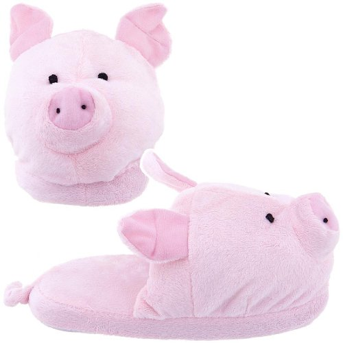 Buy Low Price Pink Pig Slippers for Women (B004Z25CZW ...