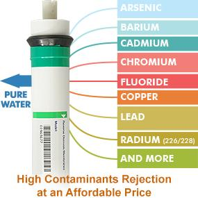 High Contaminants Rejection at an Affordable Price
