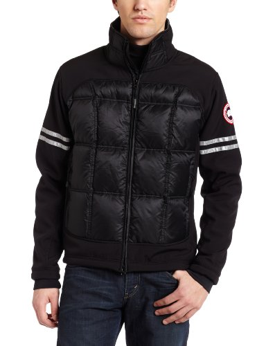 Canada Goose Men's Hybridge Long Sleeve Jacket, Black, Small