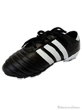 Black Soccer Shoes/Cleats Money Piggy Bank