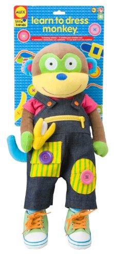 ALEX Toys - Early Learning, Little Hands Learn To Dress Monkey, 1492