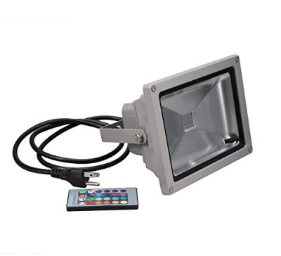 Generic-Remote-Control-10w-RGB-Waterproof-LED-Flood-Light-16-Different-Color-Tones