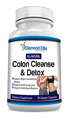 Premium Colon Cleanse & Weight Loss Detox Pills - Safe and All Natural 15 Day Formula - The Most Complete Full Body Cleanse - Great for Ridding the Bowels and Colon of Harmful Toxins and Increasing Energy Levels- Quick Weight Loss & Cleansing Detox System - Gentle, Fast & Healthy - 100%Money Back Guarantee!