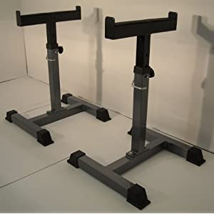 Squat Rack Safety Catches Missing Alternatives For