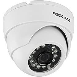 Foscam FI9851P Indoor Dome 720P Megapixel Wireless P2P IP Camera (White)