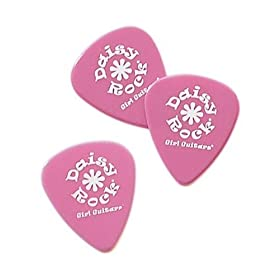 daisy rock delrin medium guitar picks 1 dozen