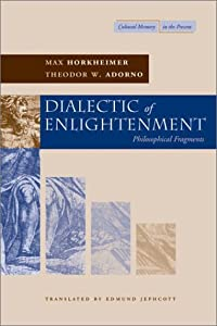 """Cover of """"Dialectic of Enlightenment (Cul..."""