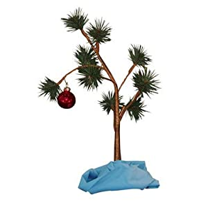 Charlie Brown's Tree with Blanket - Multicolor
