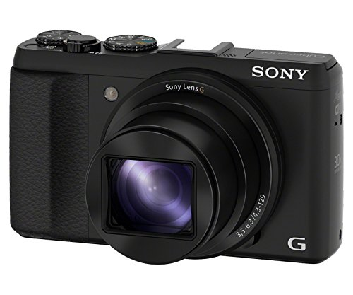 Sony DSC-HX50V/B 20.4MP Digital Camera with 3-Inch LCD Screen (Black)