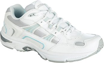Orthaheel Walker Women's Plantar Fasciitis Shoe - White Blue - 8 Med