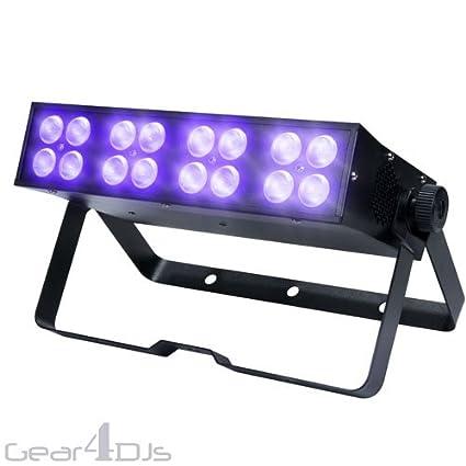KAM K-UV 16X3W Ultraviolet Blacklight 48W UV LED Effect Light