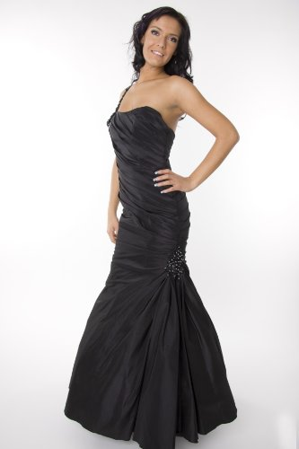 Modell 2056 Abendkleid lang, One-Shoulder-Kleid